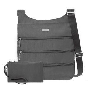 Baggallini RFID Big Zipper Crossbody Travel Bag